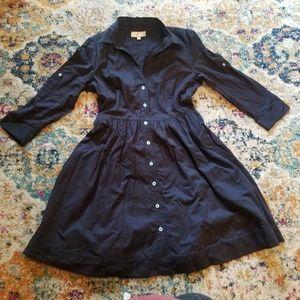 Moulinette Soeurs Dakota Button Down Shirt Dress